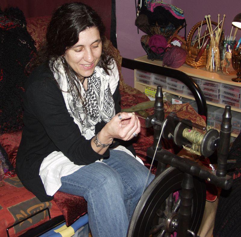 Francine spinning