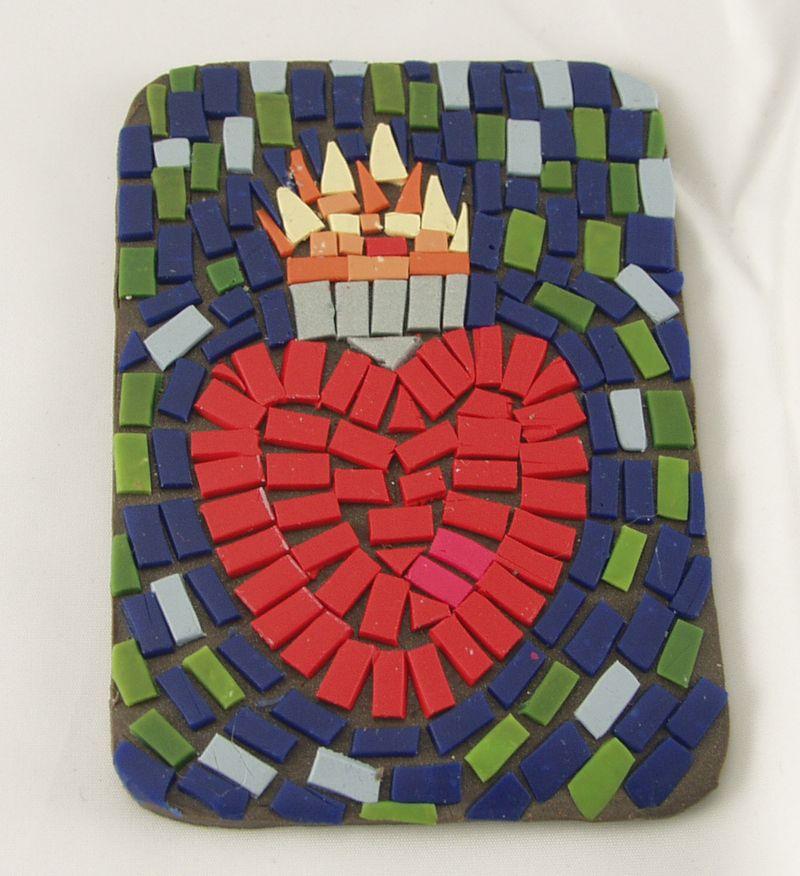 Mosaic heart