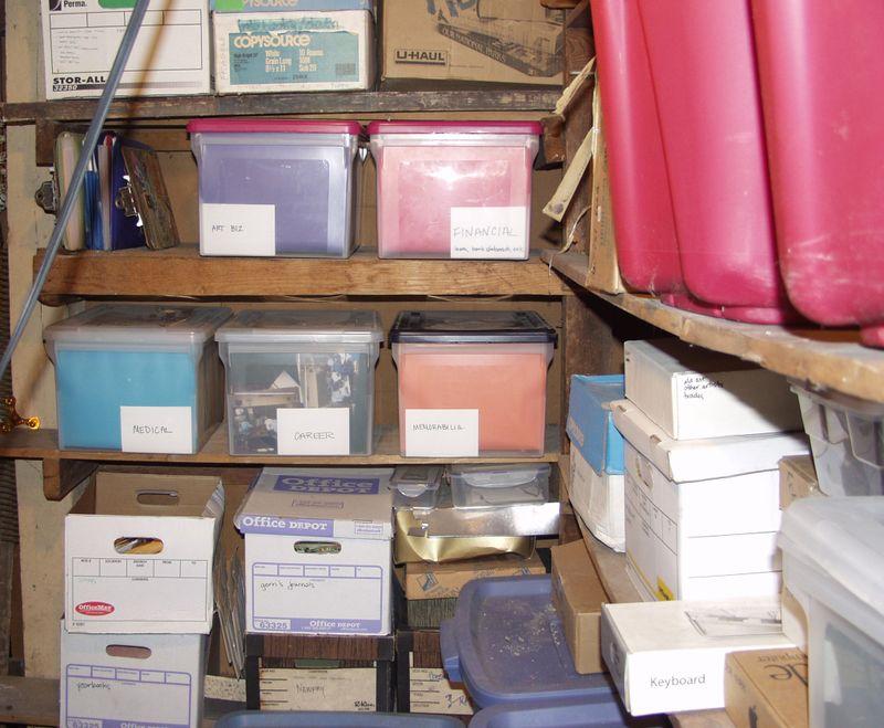 Storage after1