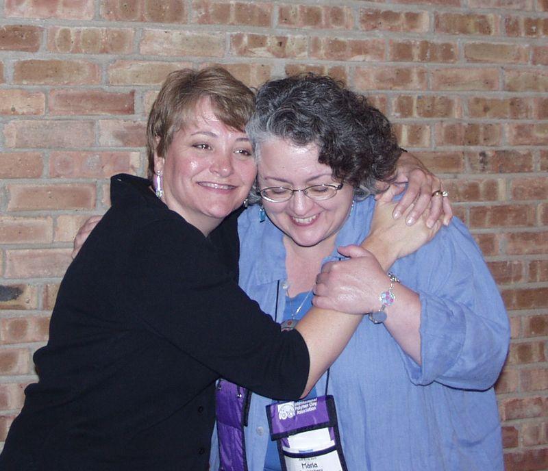Judy and marla