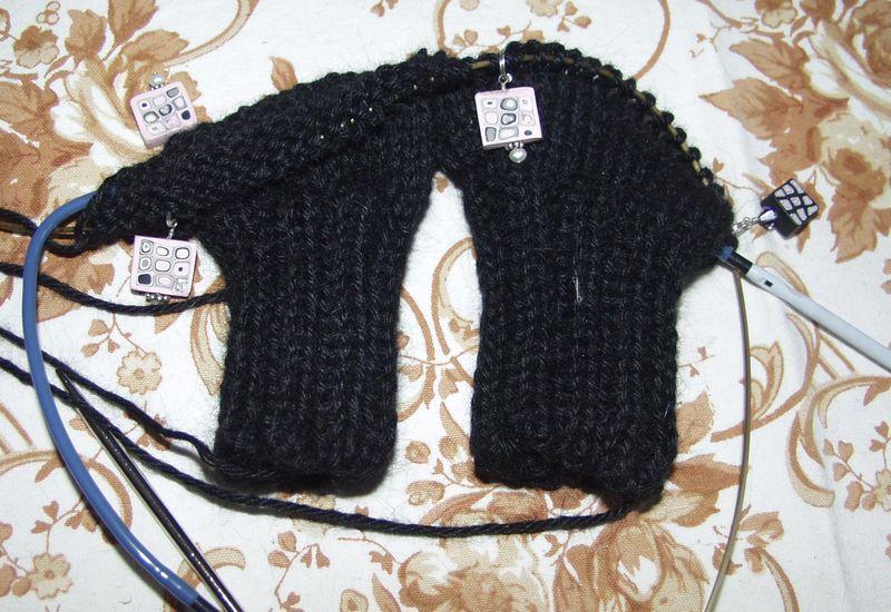 Bernadette's mitts